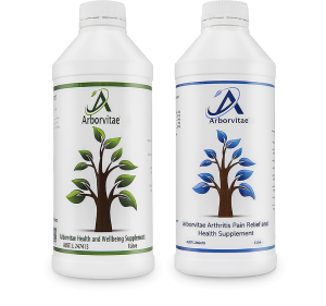 Arborvitae two bottles
