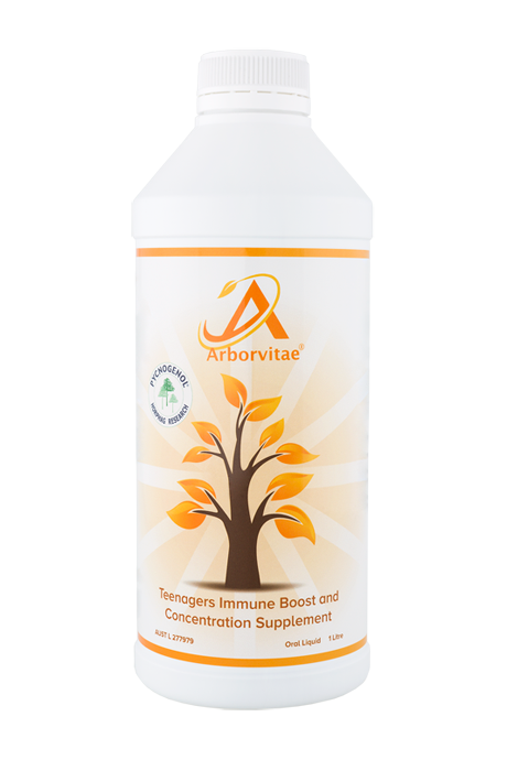 Arborvitae Teenagers Immune Boost and Concentration Supplement